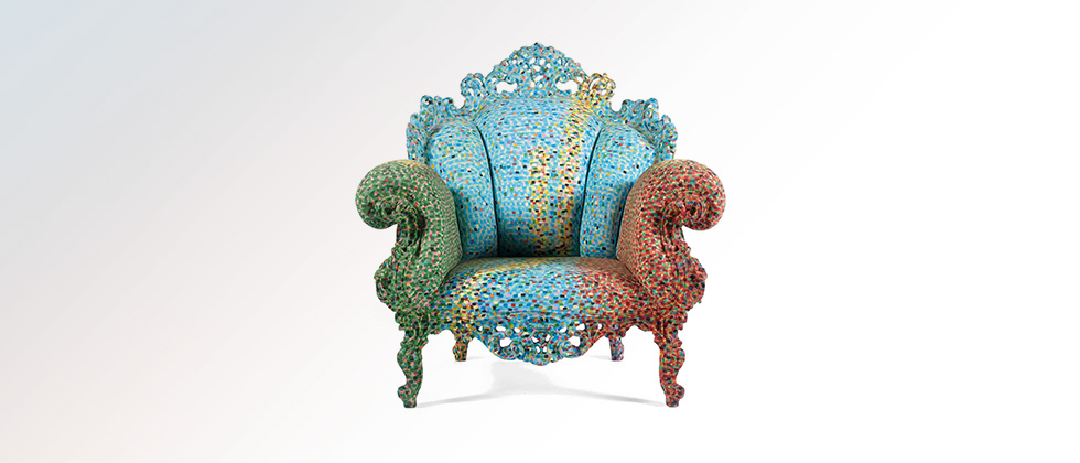Mendini Marble Chair Proust