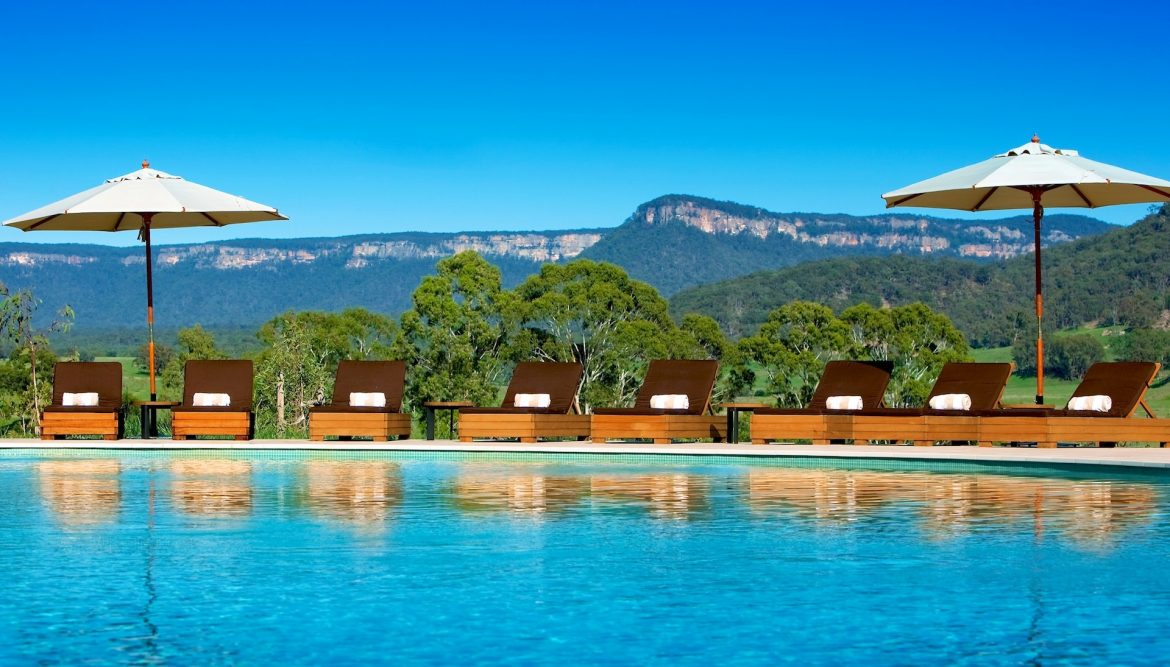 Wolgan Valley, pure luxury in the Blue Mountains  Wolgan Valley, pure luxury in the Blue Mountains Wolgan Valley Resort Spa Australia Pool