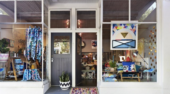 Divine store Feathered Arbour in Melbourne's Carlton North capa2