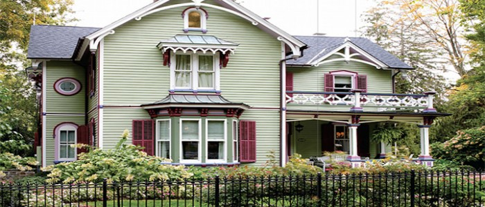 Lynne Scalo and Victorian Home