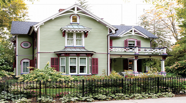Lynne Scalo and Victorian Home  Lynne Scalo and Victorian Home capa