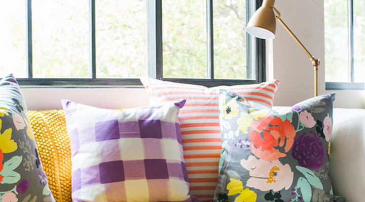 Living Interiors with 10 Most Colorful Throw Pillows