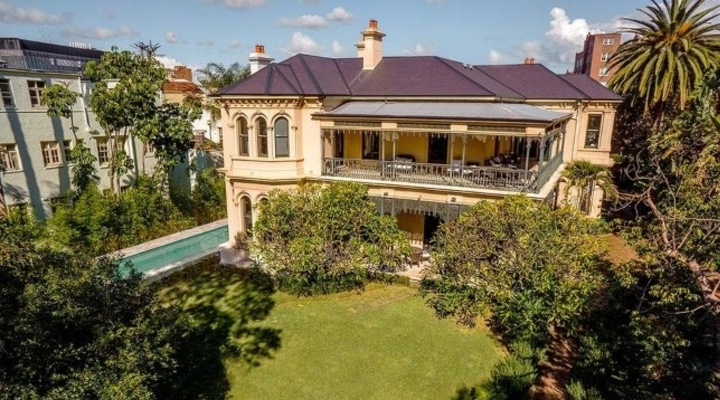 Baz Luhrmann and Catherine Martin Sydney Mansion Sale
