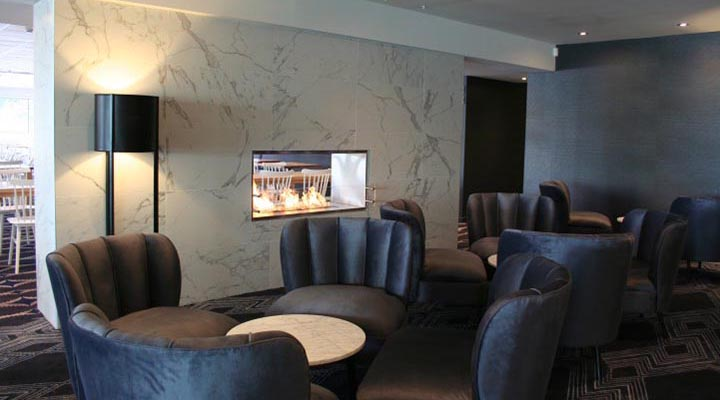 Sydney Rowing Club upgrade is lounge area with BRABBU's DALYAN Armchair capa5
