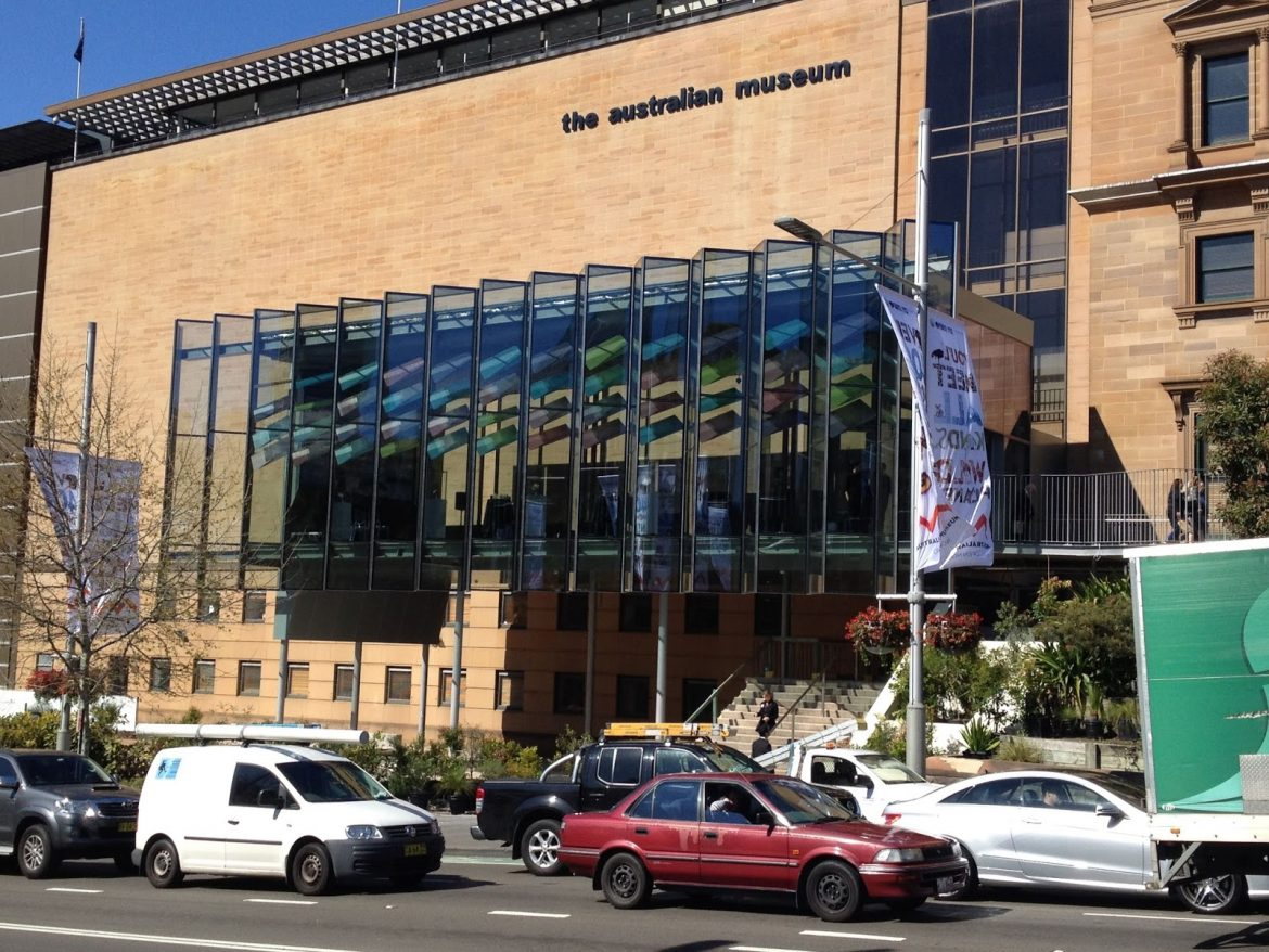 "Australian Museum  The opening of the ""front door"" of Australia Museum Australian Museum"