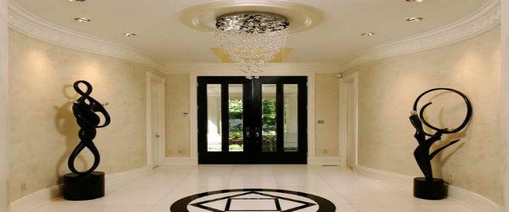 Contemporary foyer