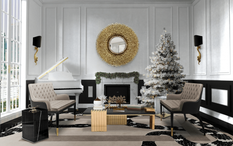 living room decor christmas decor ideas 5 Christmas Decor Ideas to an Elegant Atmosphere imperial snake christmas 1 480x300