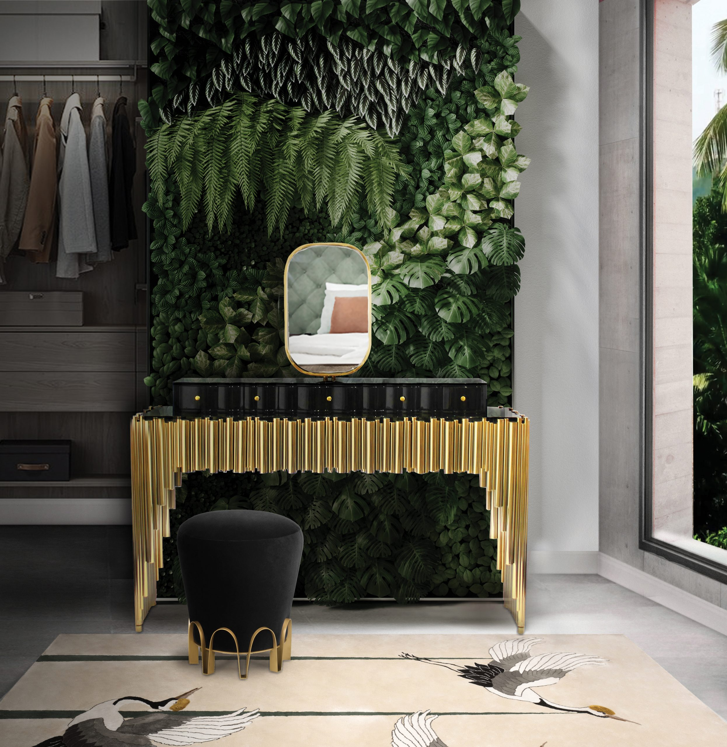 Top 5 interior design trends to welcome Spring in 2020 interior design trends Interior design trends to welcome Spring maison valentina biophilic ambience scaled