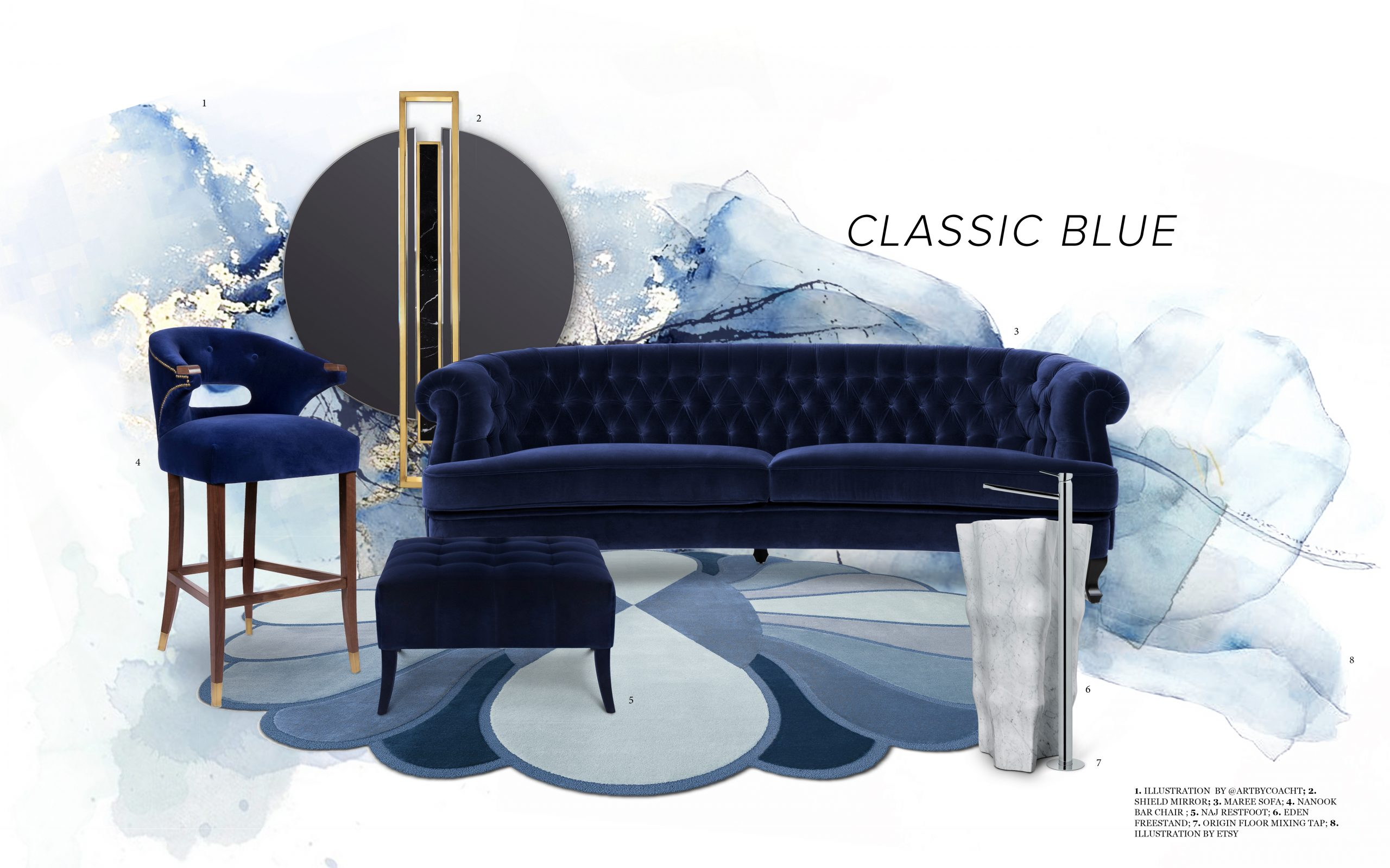 Classic Blue classic blue Classic Blue – Pantone Released the Color of the year 2020 classic blue scaled