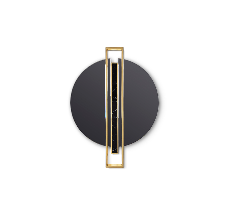 classic blue Classic Blue – Pantone Released the Color of the year 2020 shield mirror from maison valentina