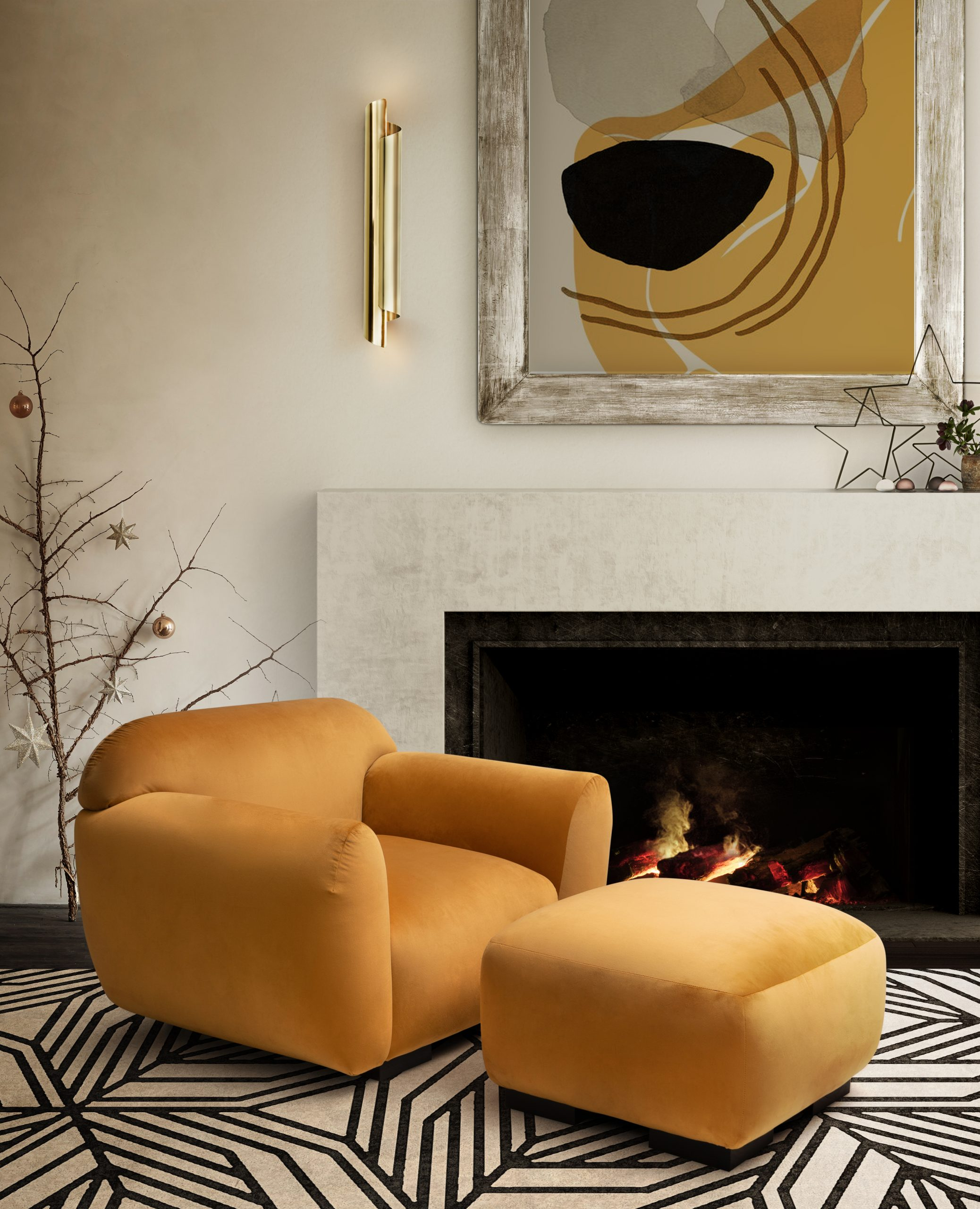 Home Decor Trends about to emerge at the start of 2020 home decor trends Home Decor Trends about to emerge at the start of 2020 otter chair geometric forms and colorful spaces scaled