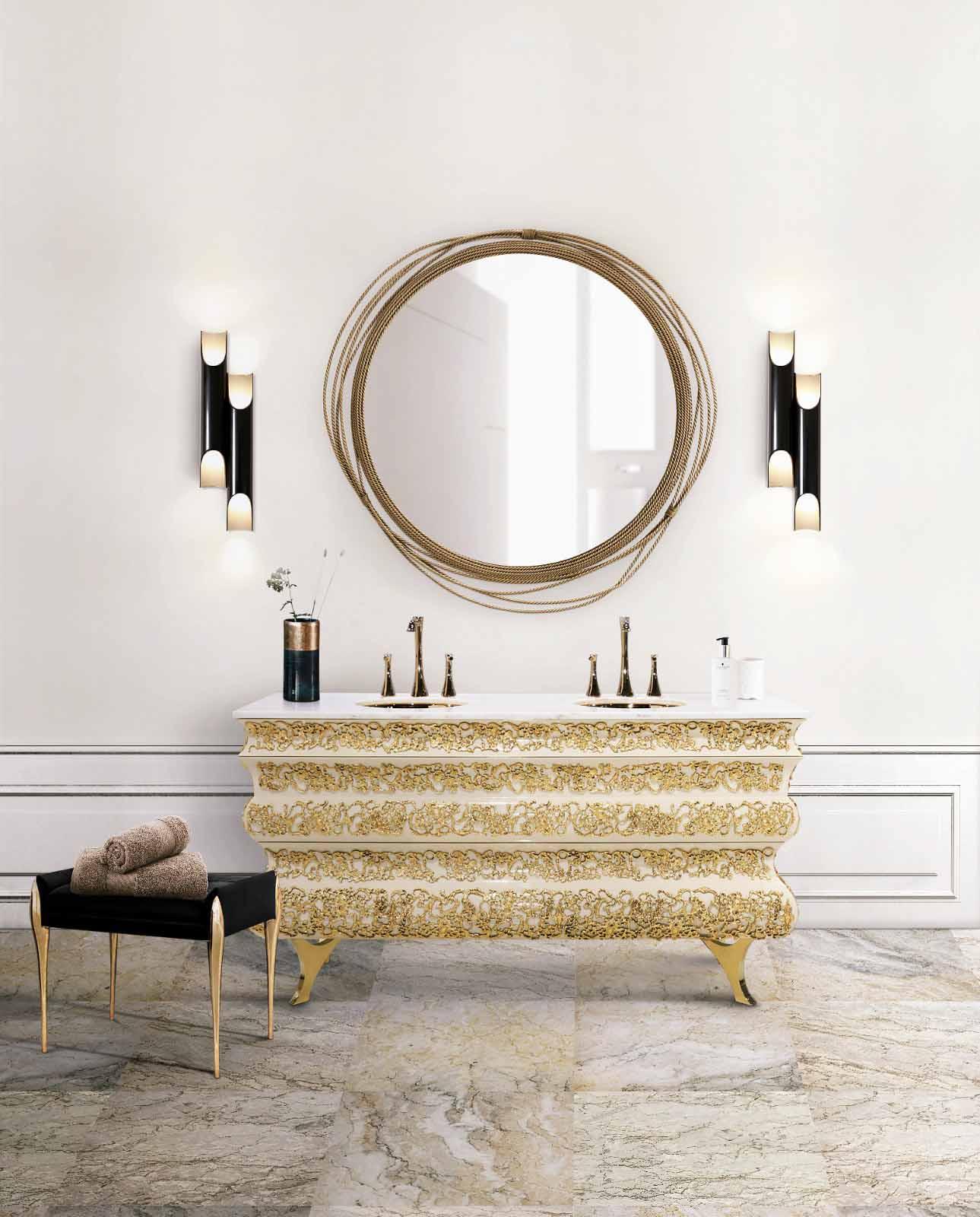 5 Lighting Design Trends for 2020 5 lighting design trends 5 Lighting Design Trends for 2020 17 crochet washbasin galliano wall lamp maison valentina