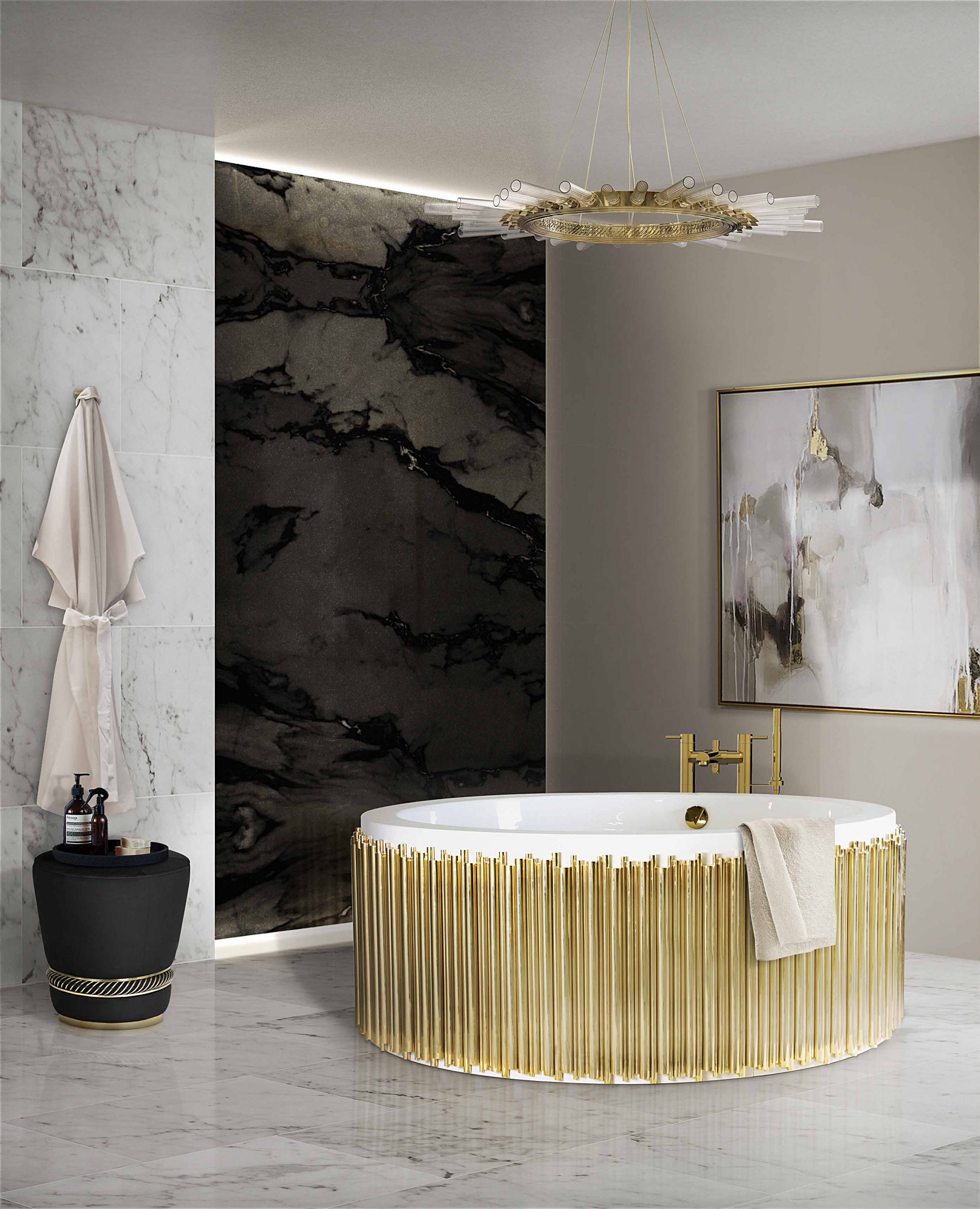5 Lighting Design Trends for 2020 5 lighting design trends 5 Lighting Design Trends for 2021 27 symphony bathtub black paramount surface scaled