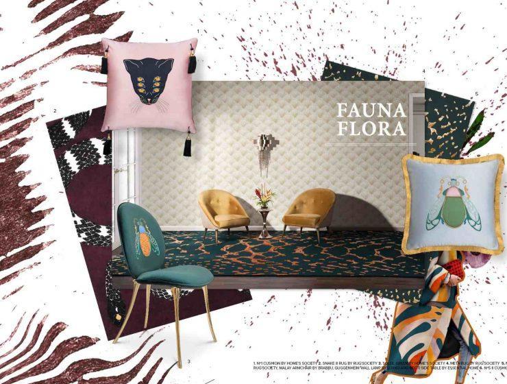 Home Page fauna flora trends 2019 interior design mood board 740x560